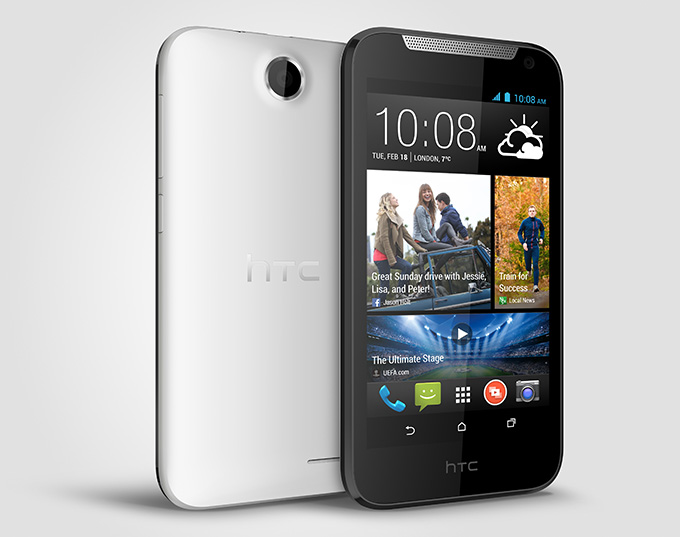 HTC Desire 310_PerRight_White