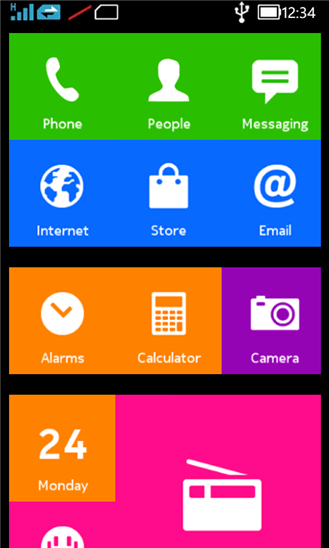 Nokia X Preview Screenshot 2