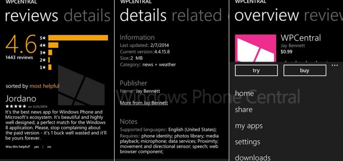 Windows Phone 8.1 App Beispiel