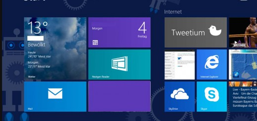 Windows 8 App beenden
