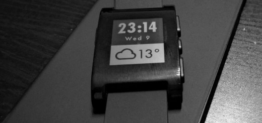 Pebble Smartwatch Artikelbild1