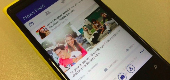 Facebook App Windows Phone