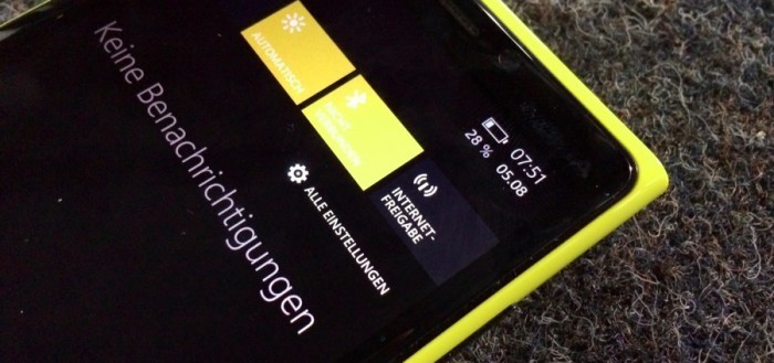 Tethering Windows Phone