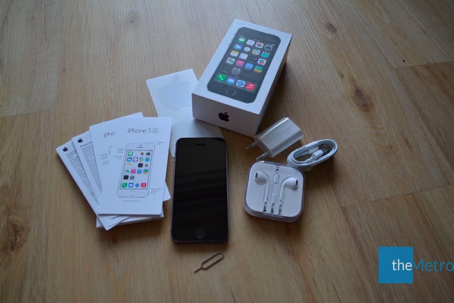 iPhone 5s Verpackung