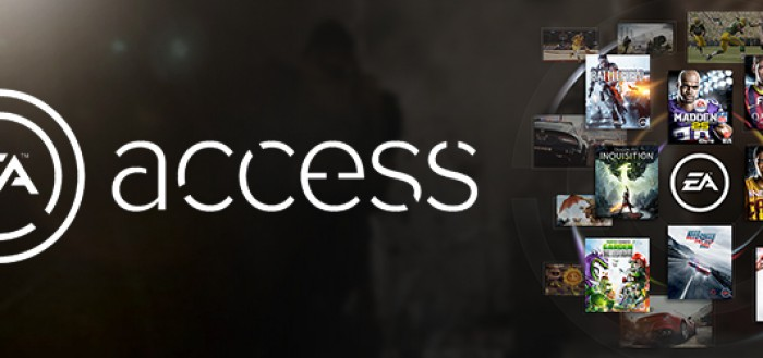 EA Access Xbox One exklusiv