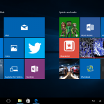 Windows 10 Startmenü Tabletmodus