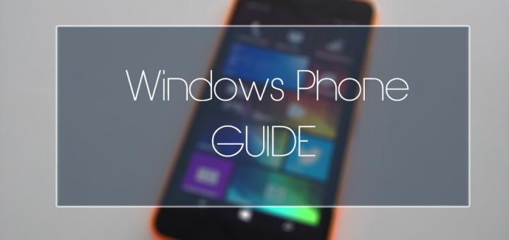 WindowsPhoneGuide