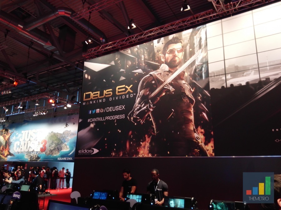 Gamescom 2015 Deus EX Mankind Devided
