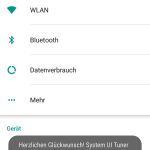 Android 6.0 Marshmallow System UI Tuner