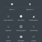 Android 6.0 Marshmallow Quick-Settings