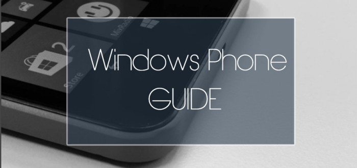 Windows Phone Guide 3
