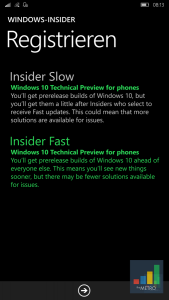 Windows 10 Mobile Preview2 2
